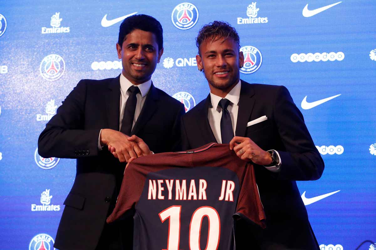 Al-Khelaifi y Neymar