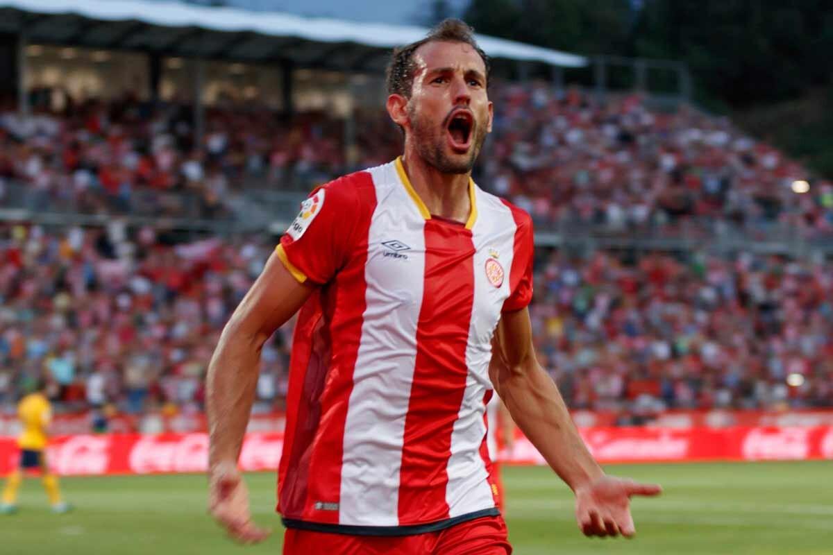 هدف جيرونا الأول في مرمى ريال مدريد