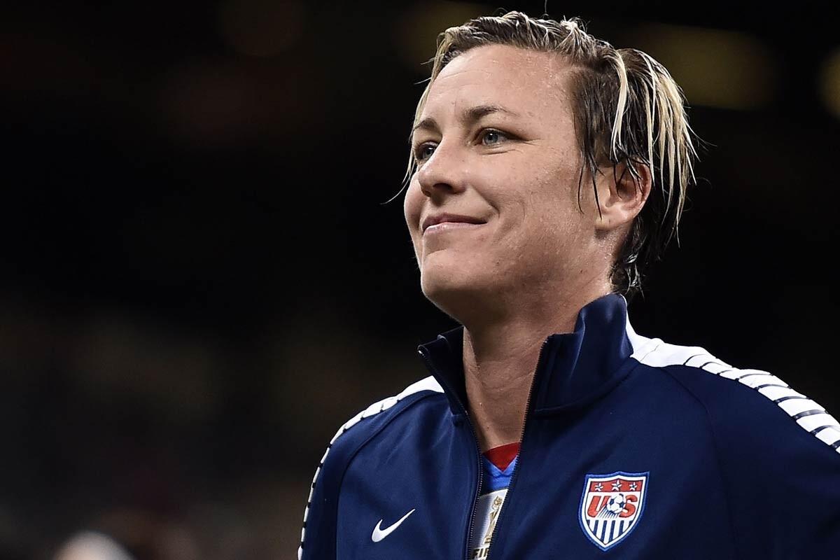Abby Wambach, ex futbolista de los Estados Unidos