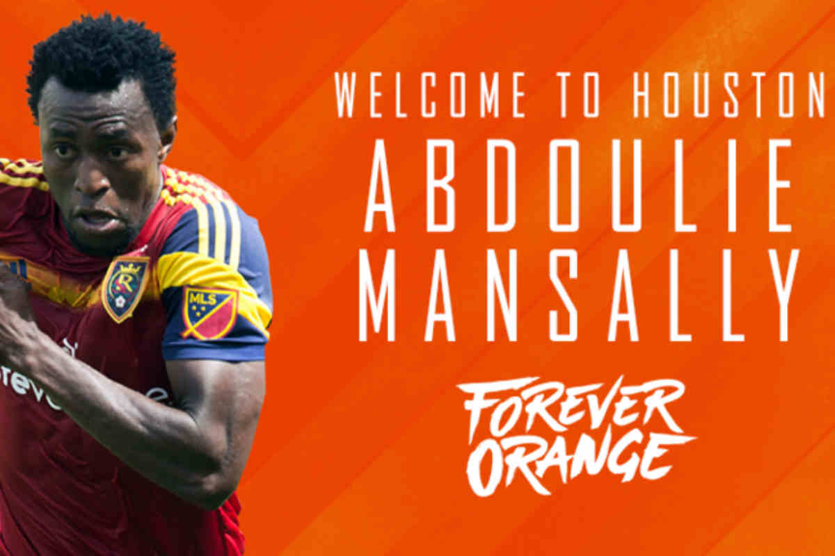 Abdoulie Mansally ficha por Houston Dynamo