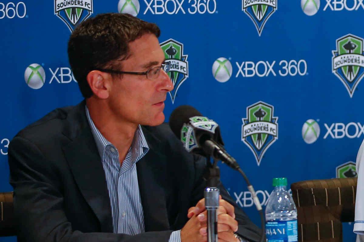 Adrian Hanauer, propietario de los Seattle Sounders