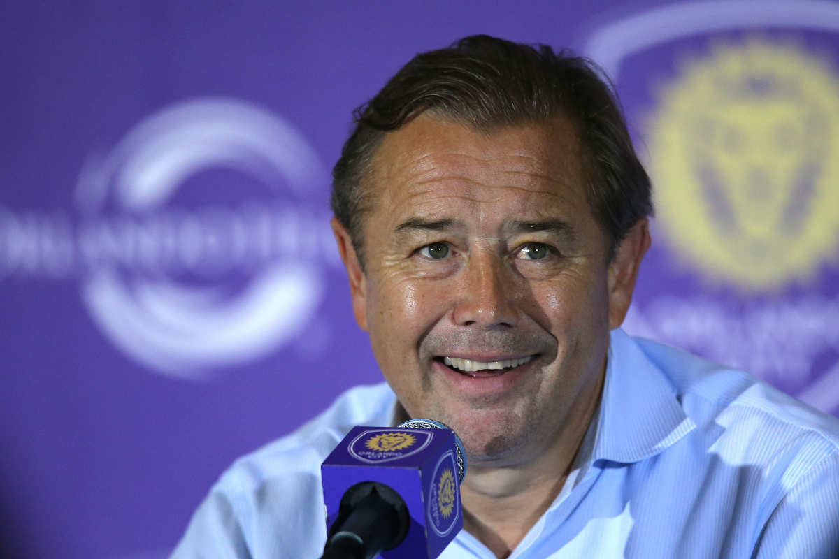 Adrian Heath, técnico de Orlando City