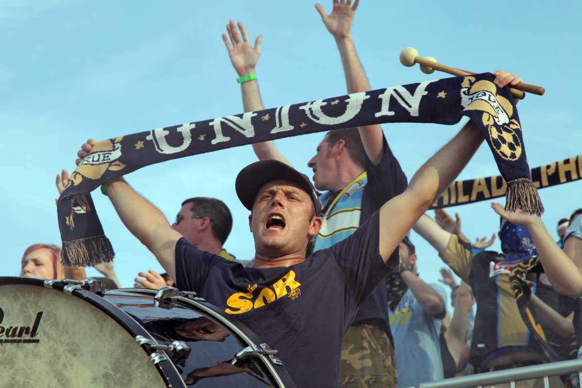 Aficionados Filadelfia Union