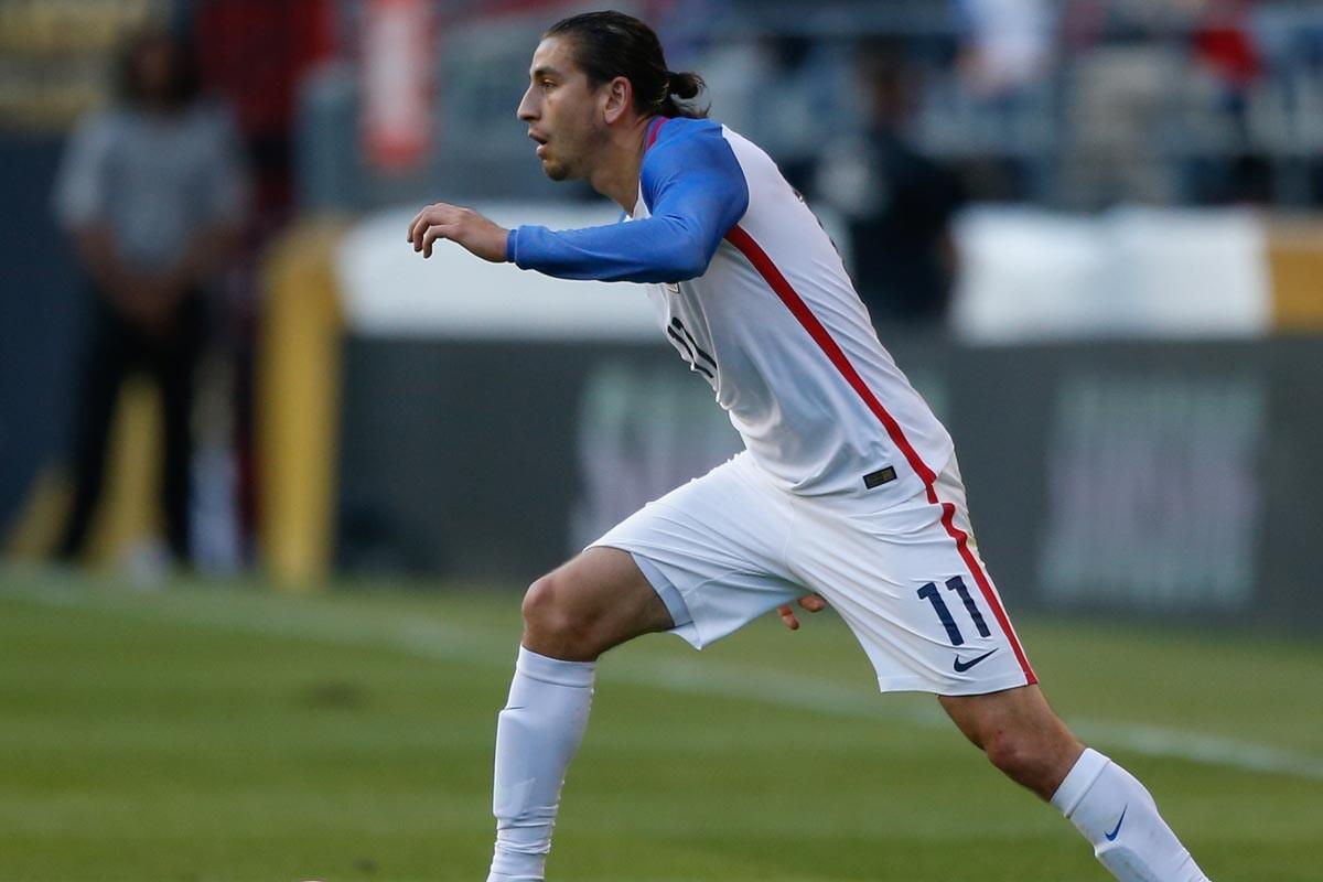 Alejandro Bedoya, con la selección de Estados Unids