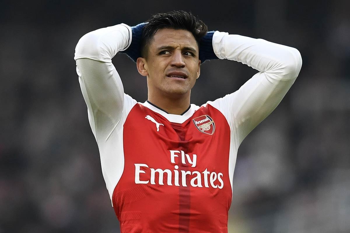 Alexis Sanchez, delantero del Arsenal