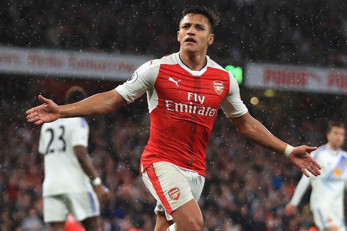 Alexis Sánchez, jugador del Arsenal