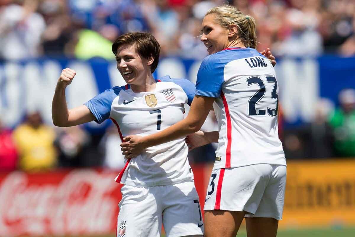 Estados Unidos femenino derrotó a Japón