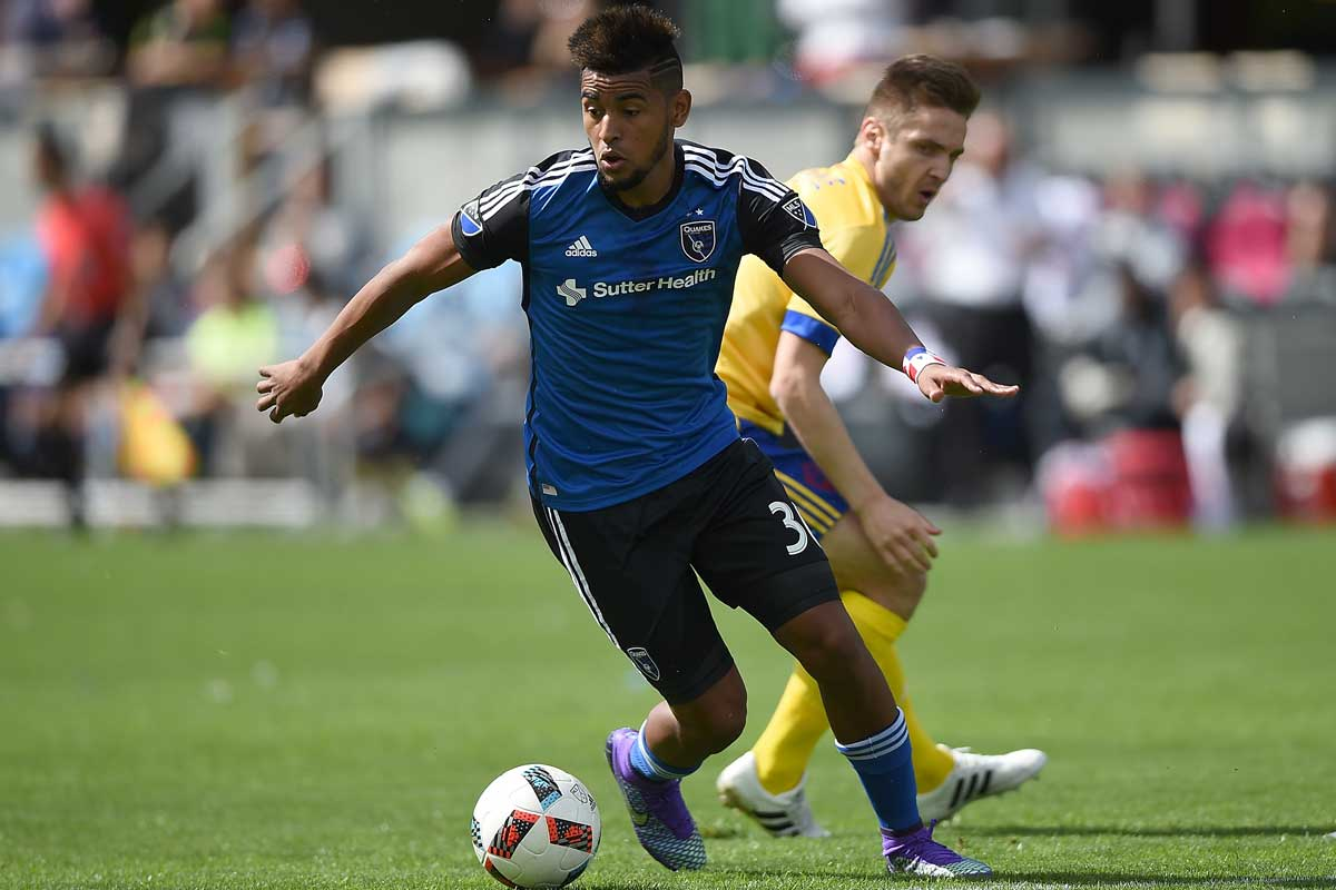 Anibal Godoy, de San Jose Earthquakes
