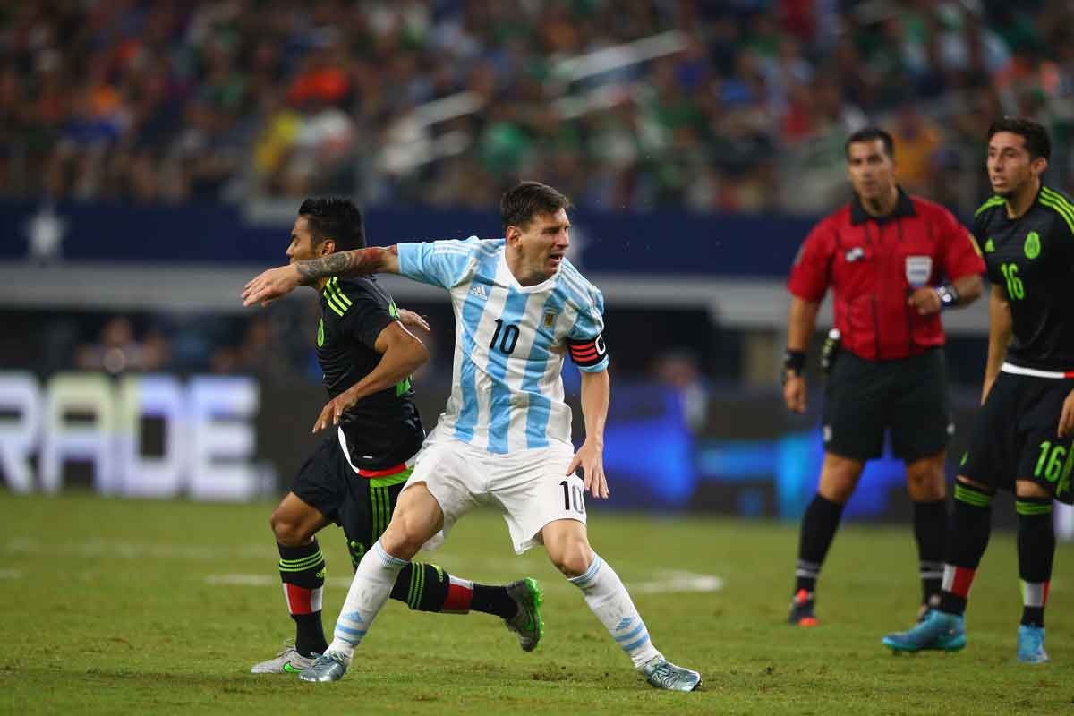 argentina fuera copa america