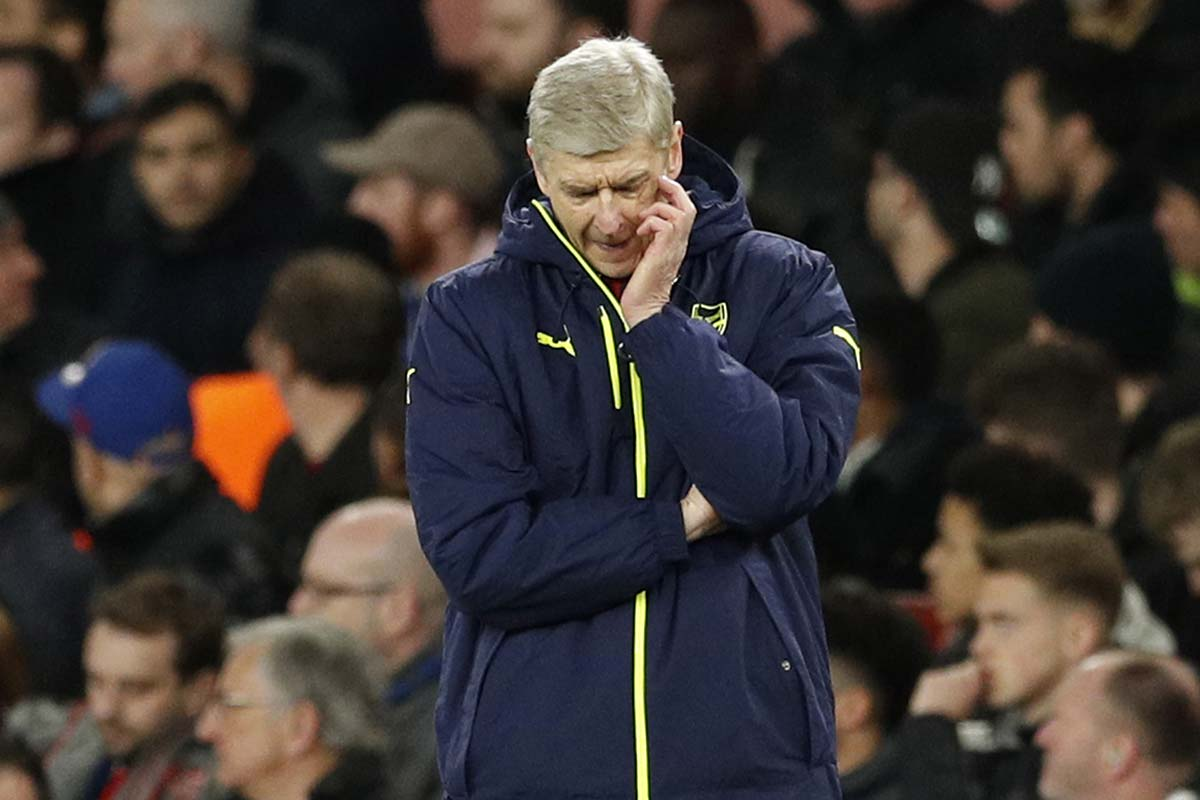 Arsene Wenger, técnico del Arsenal