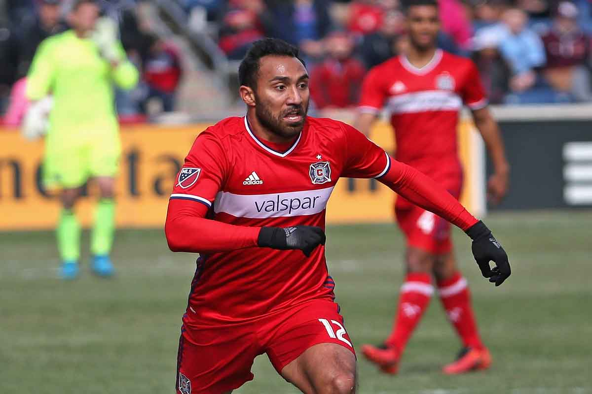 Chicago fire derroto a houston dynamo