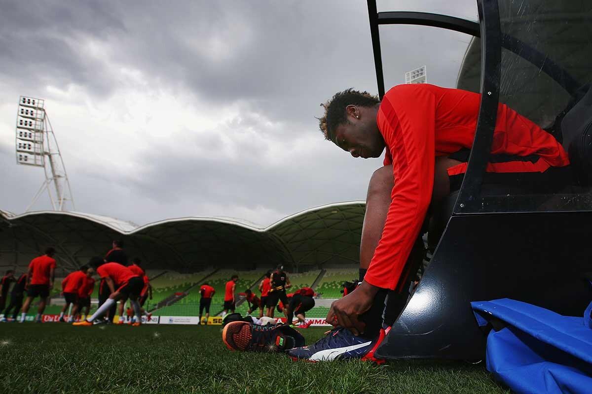 Asamoah Gyan, atacante de Shanghai SIPG FC