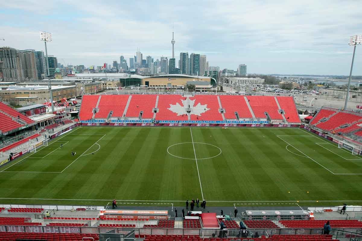 estadio renovado de BMO Field