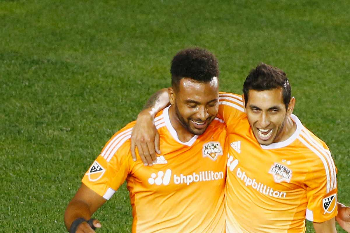 Barnes y Maidana, de Houston Dynamo