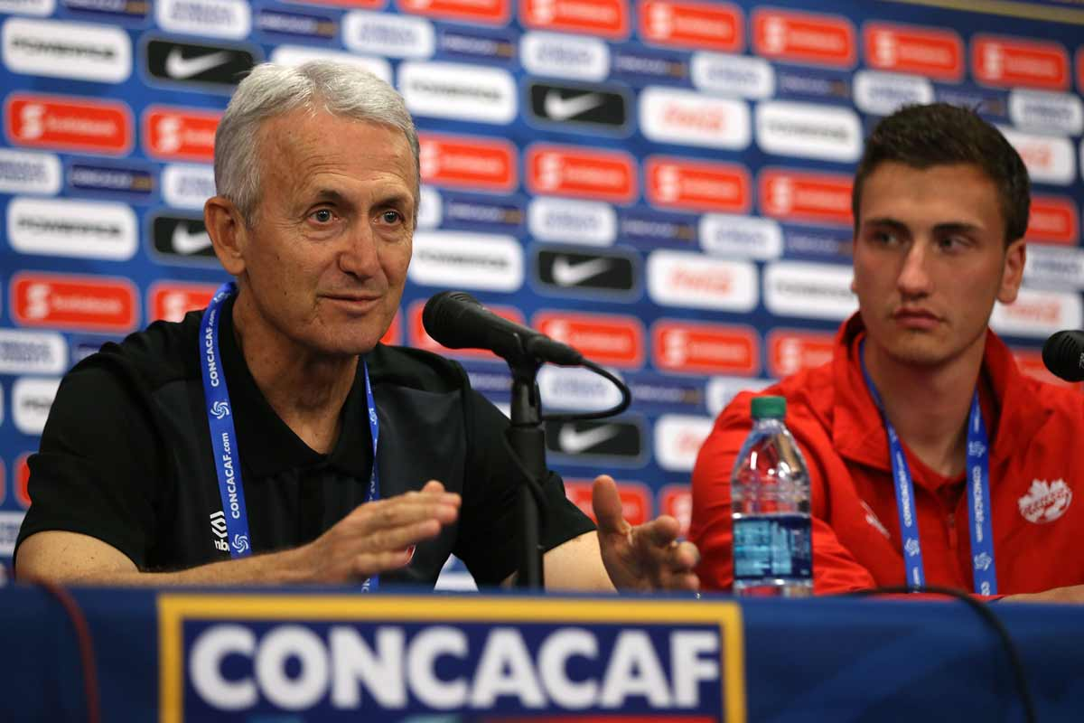 Benito Floro habló al término de la derrota 0-3 ante México