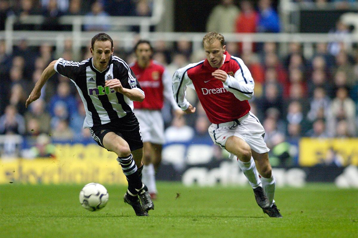 Dennis Bergkamp, Newcastle