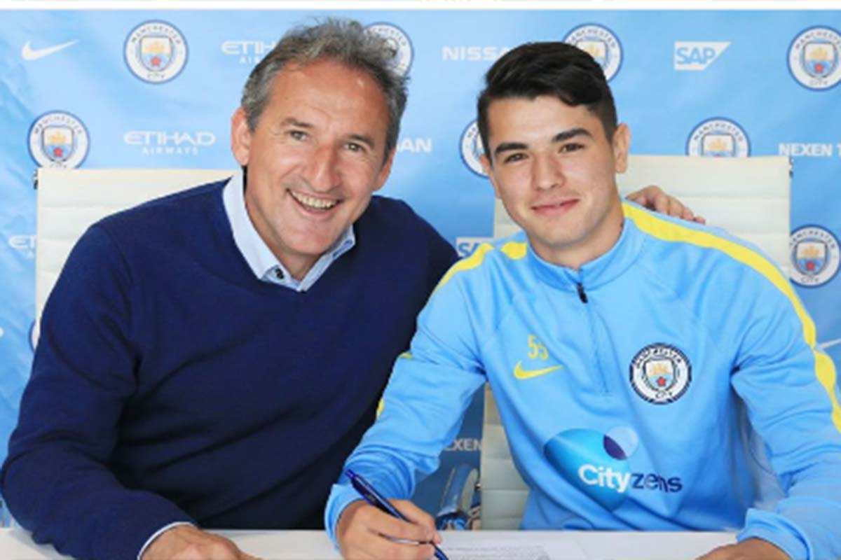 Brahim Diaz, del Manchester City