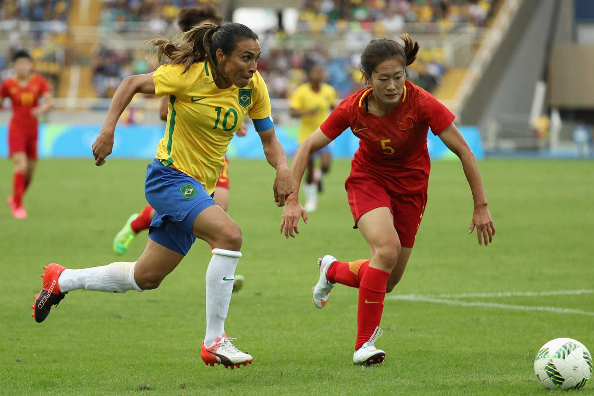 Brasil - China femenino
