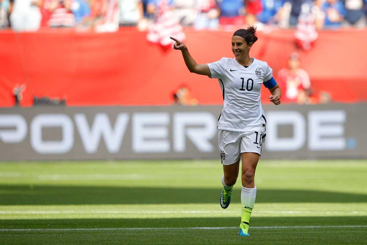 Carli Lloyd habla sobre el futbol femenino