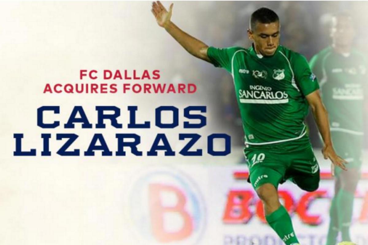 Carlos Lizarazo, nuevo fichaje de FC Dallas