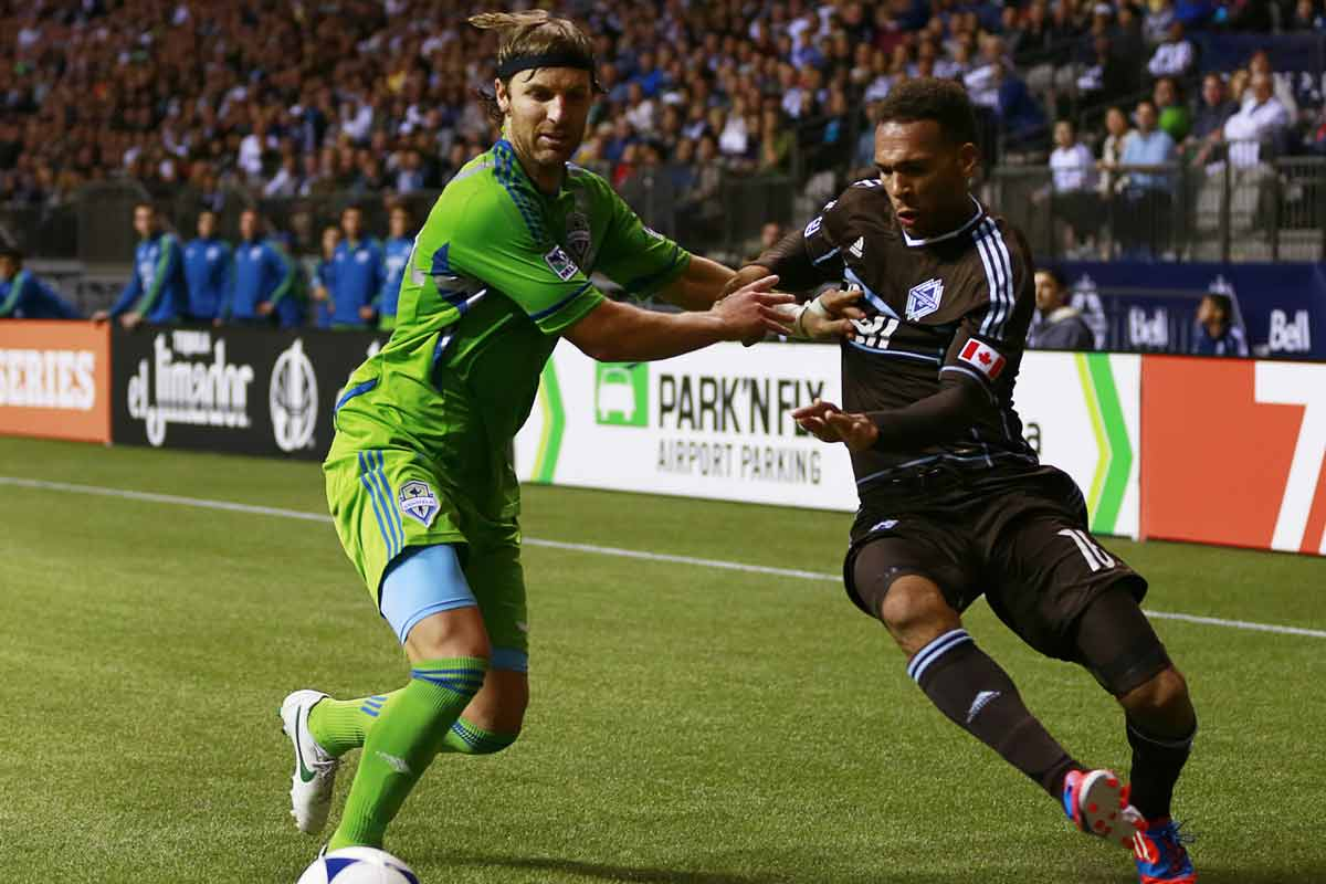 Partido entre Seattle Sounders y Vancouver Whitecaps
