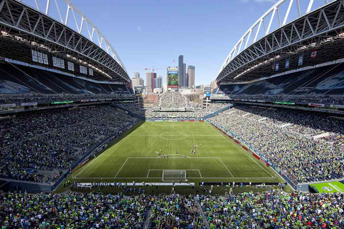 CenturyLink Field, estadio de Seattle Sounders
