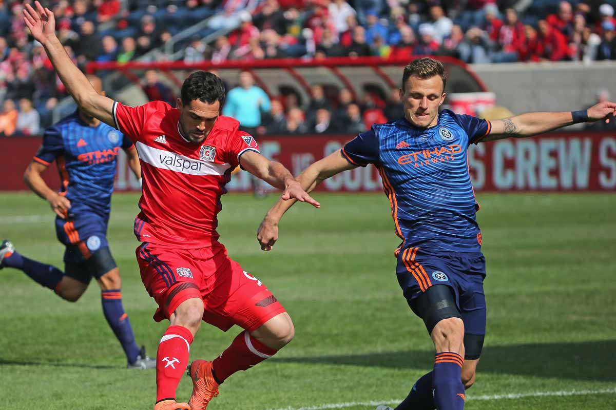 Chicago Fire vs NYCFC, de la primera jornada de la MLS