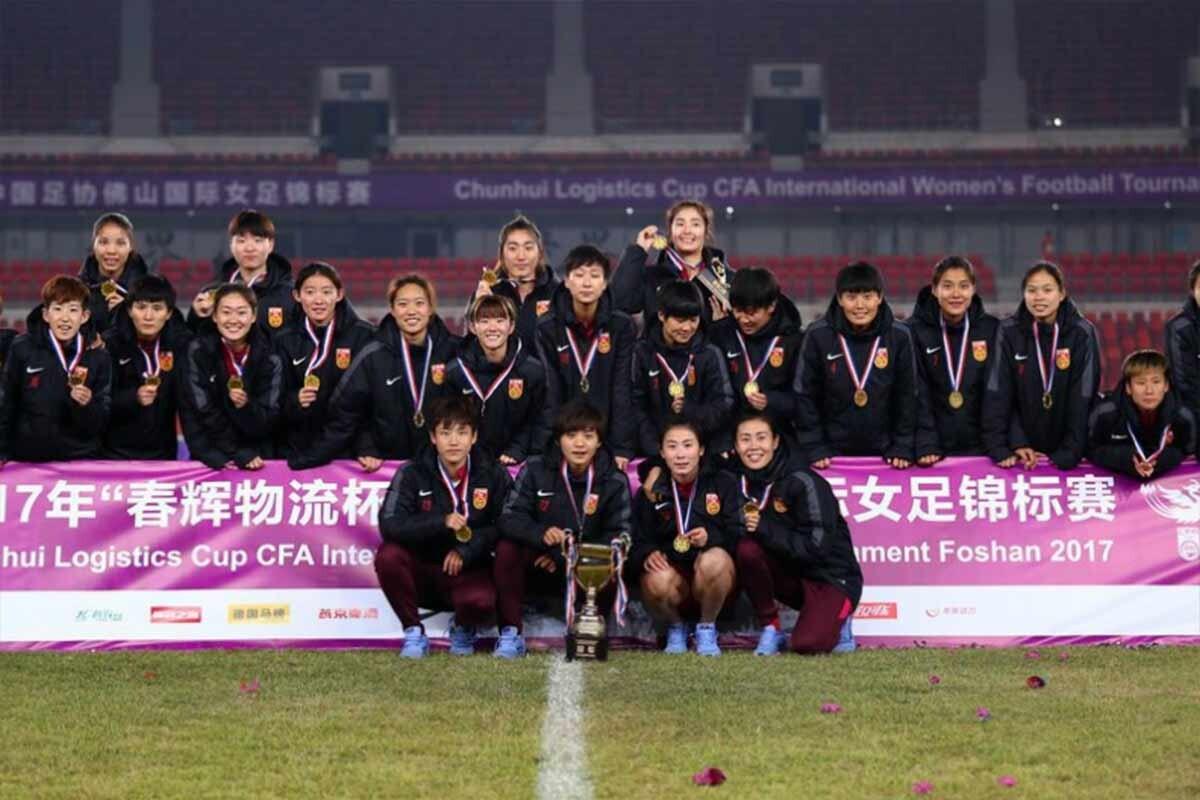Selección de China femenina