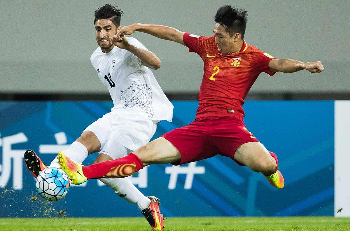 China vs Iran, de clasificación al Mundial de Rusia 2018