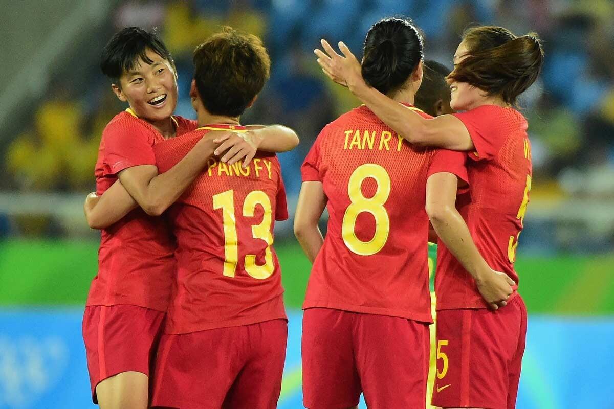 La selección femenino de China