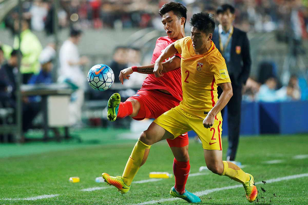 China vs Corea, de la clasificación al Mundial de Rusi