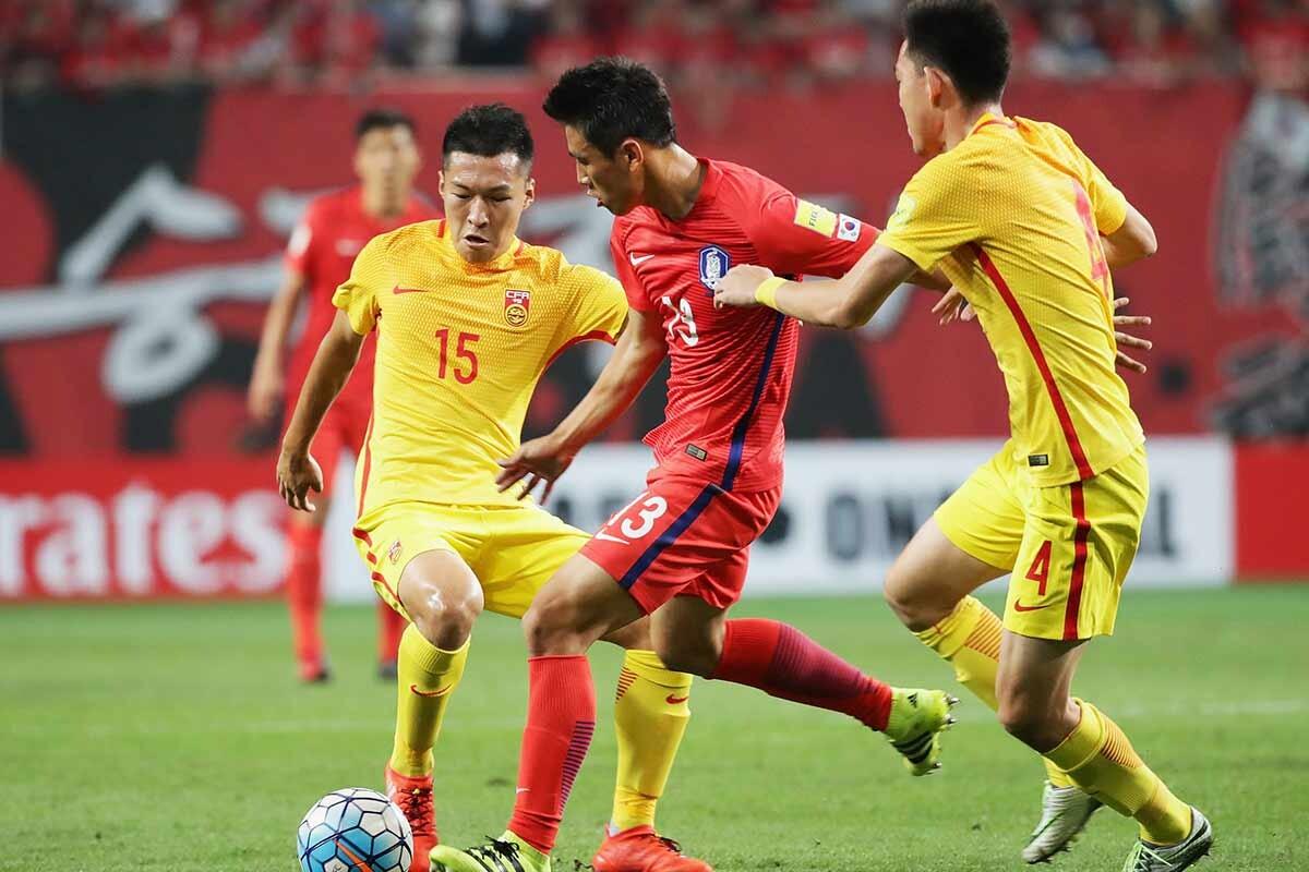 China vs Corea del Sur