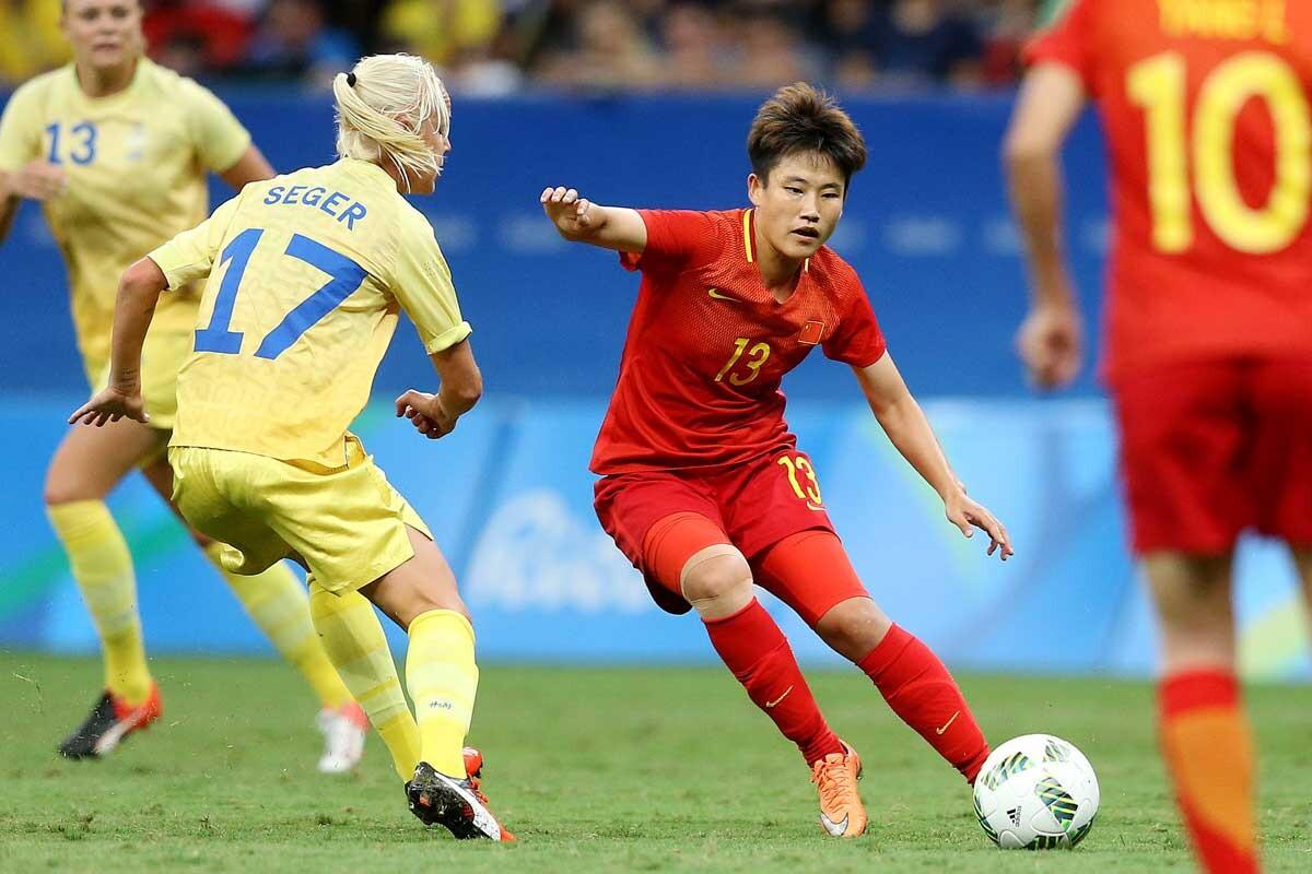 China - Suecia, en los Juegos Olimpicos de Rio 2016