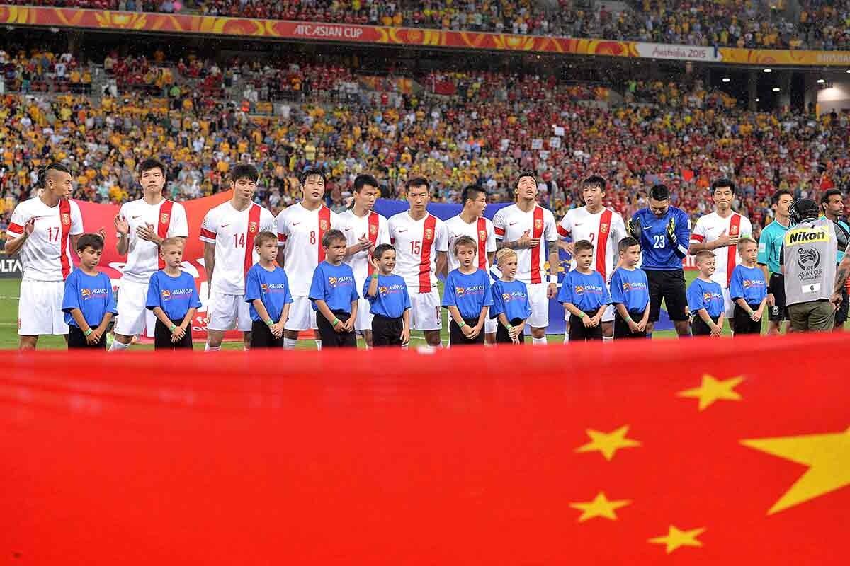 Selección china