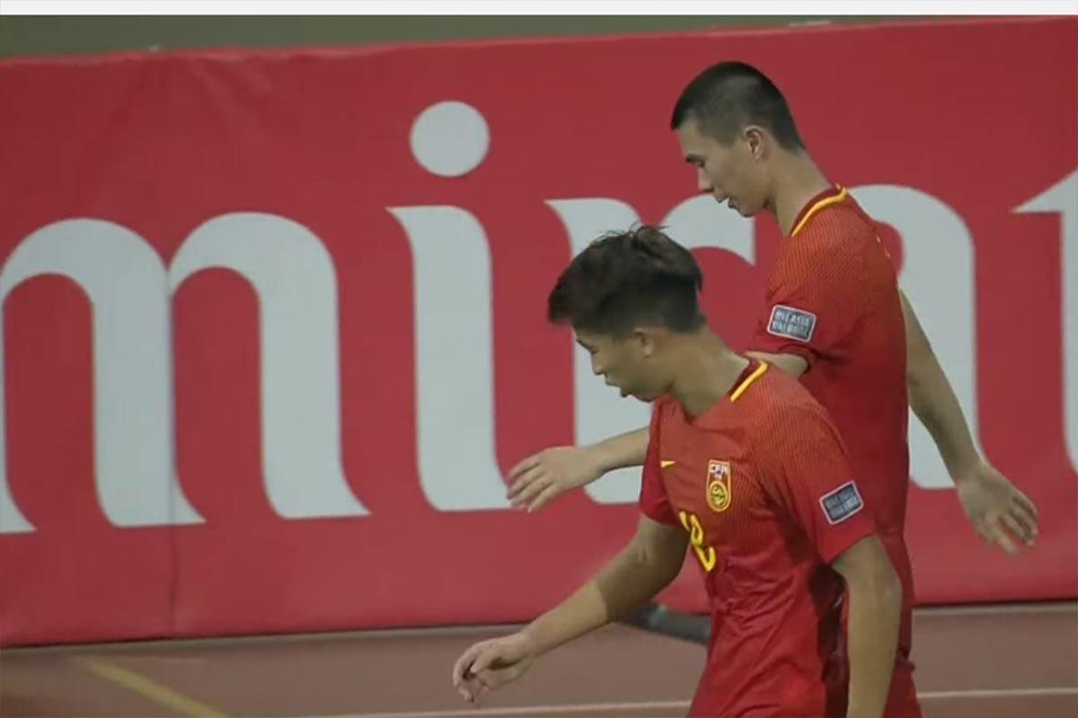 Jugadores de China sub 19