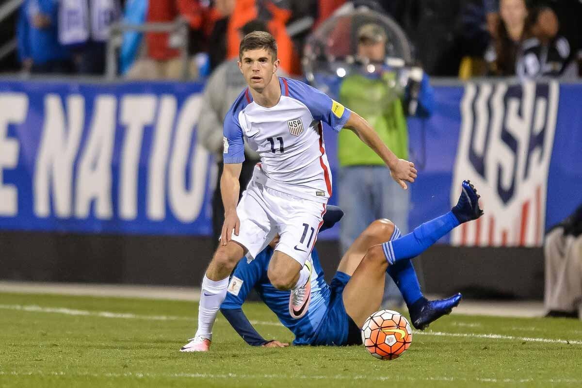 Chris Pulisic debutante más joven de la selección americana