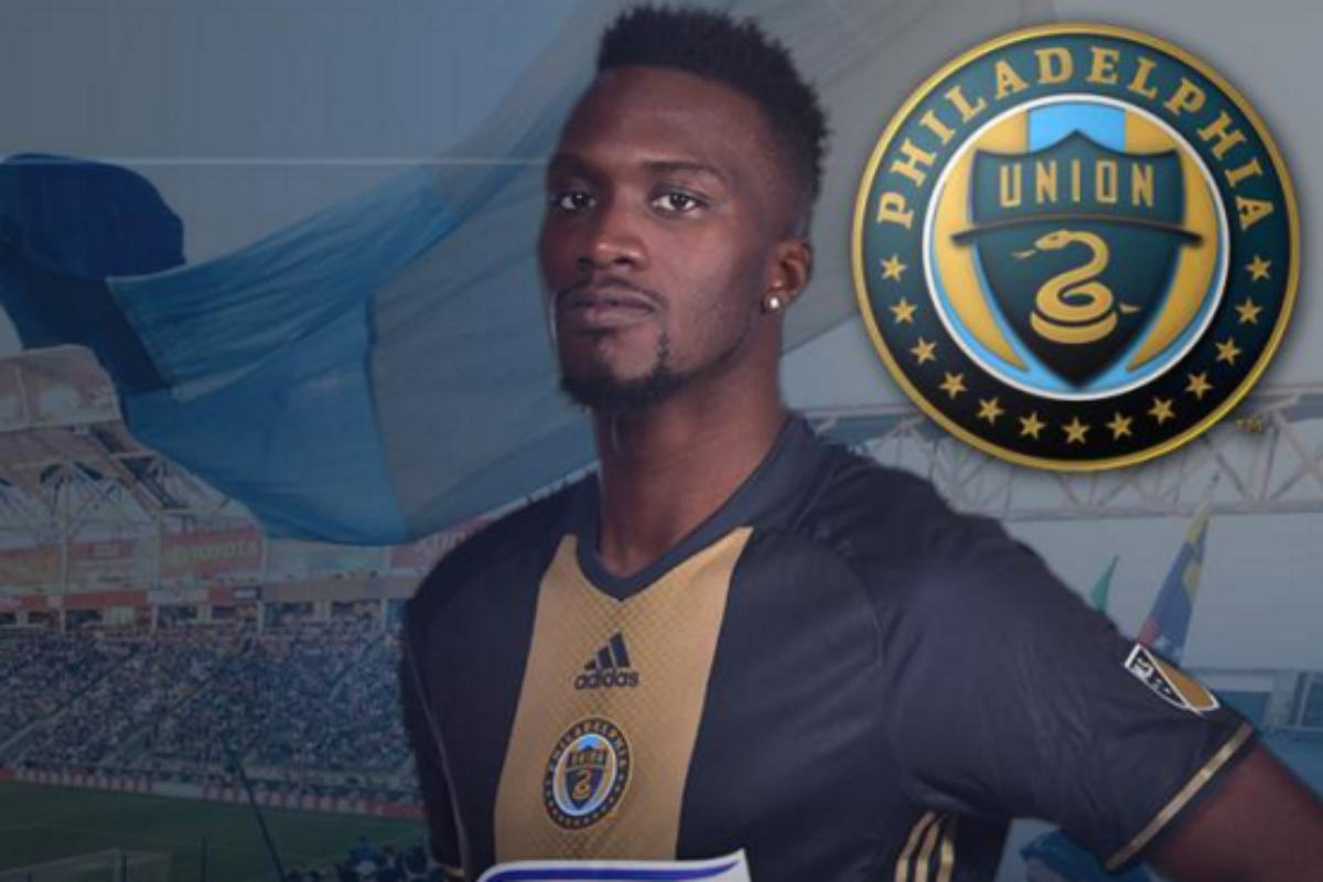 CJ Sapong, de Philadelphia Union