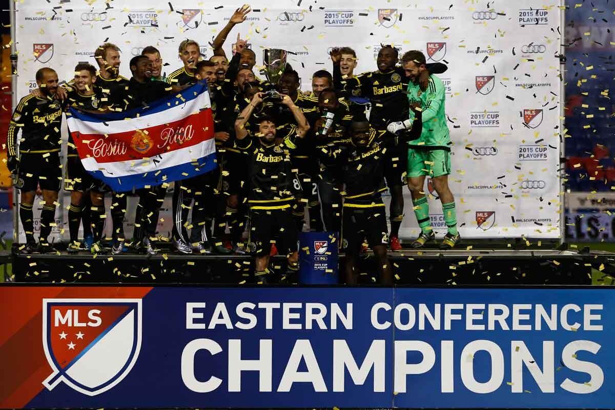 Columbus Crew gana la conferencia este de 2015