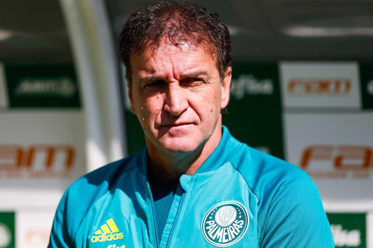 Cuca, técnico de Palmeiras