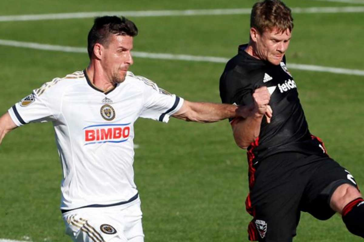 DC United Philadelphia Union, partido de preseason