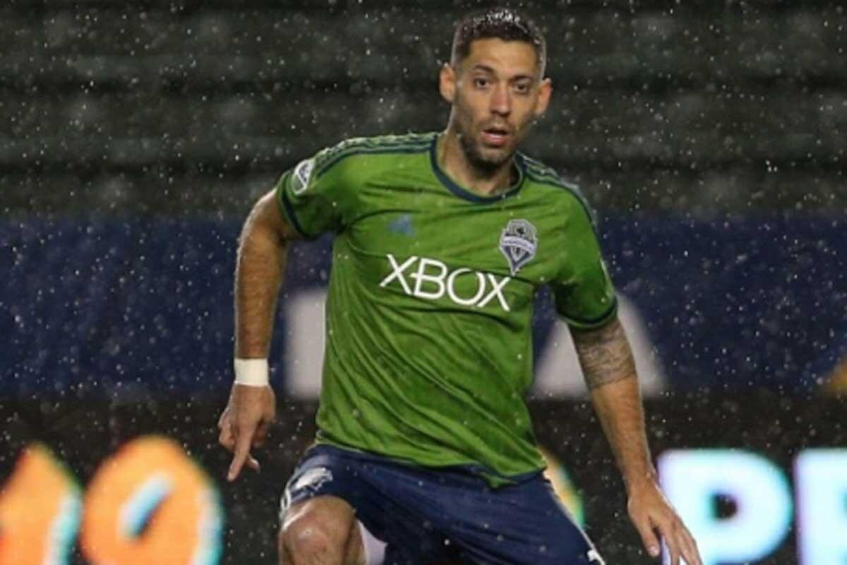 Clint Dempsey, de los Seattle Sounders