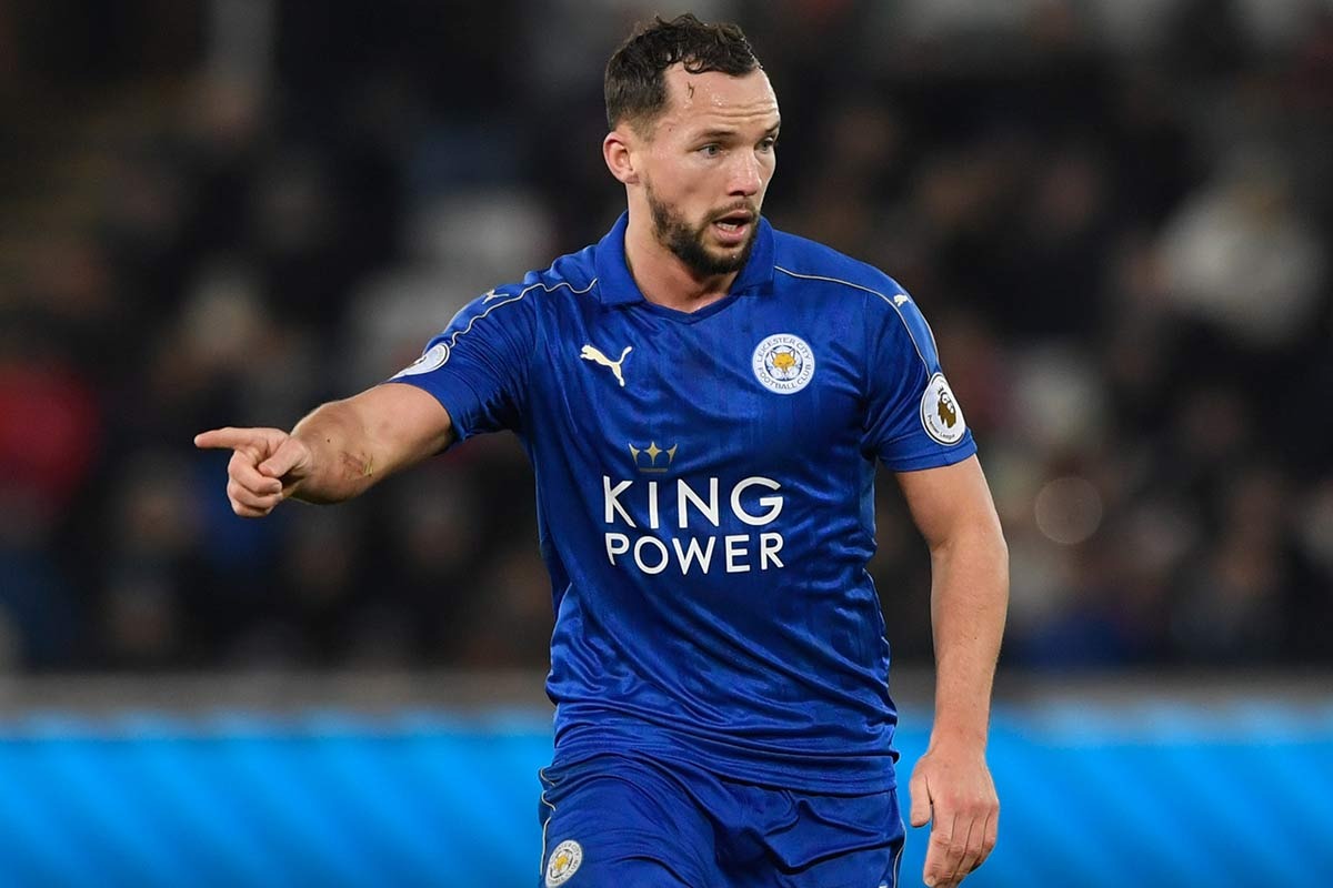 Danny Drinkwater, del Leicester City
