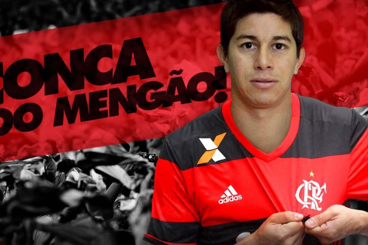 Dario Conca, de Flamengo