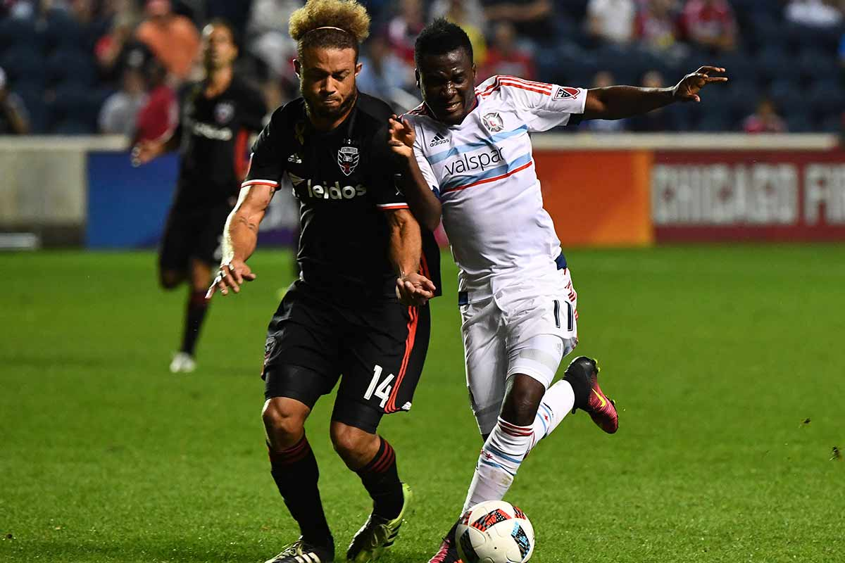 David Accam, de Chicago Fire