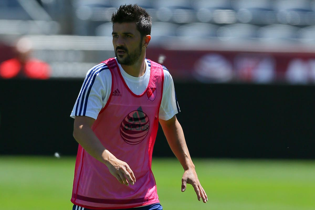 David Villa, delantero de New York City