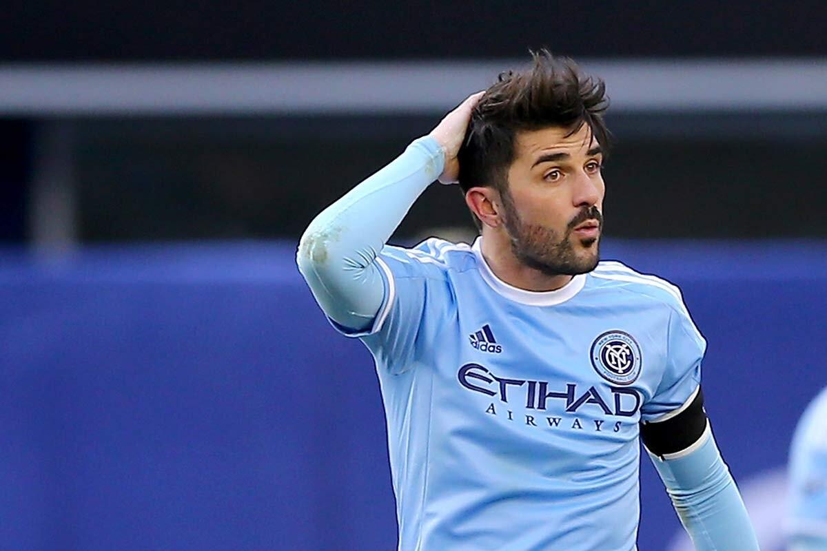 David Villa, delantero de New york City