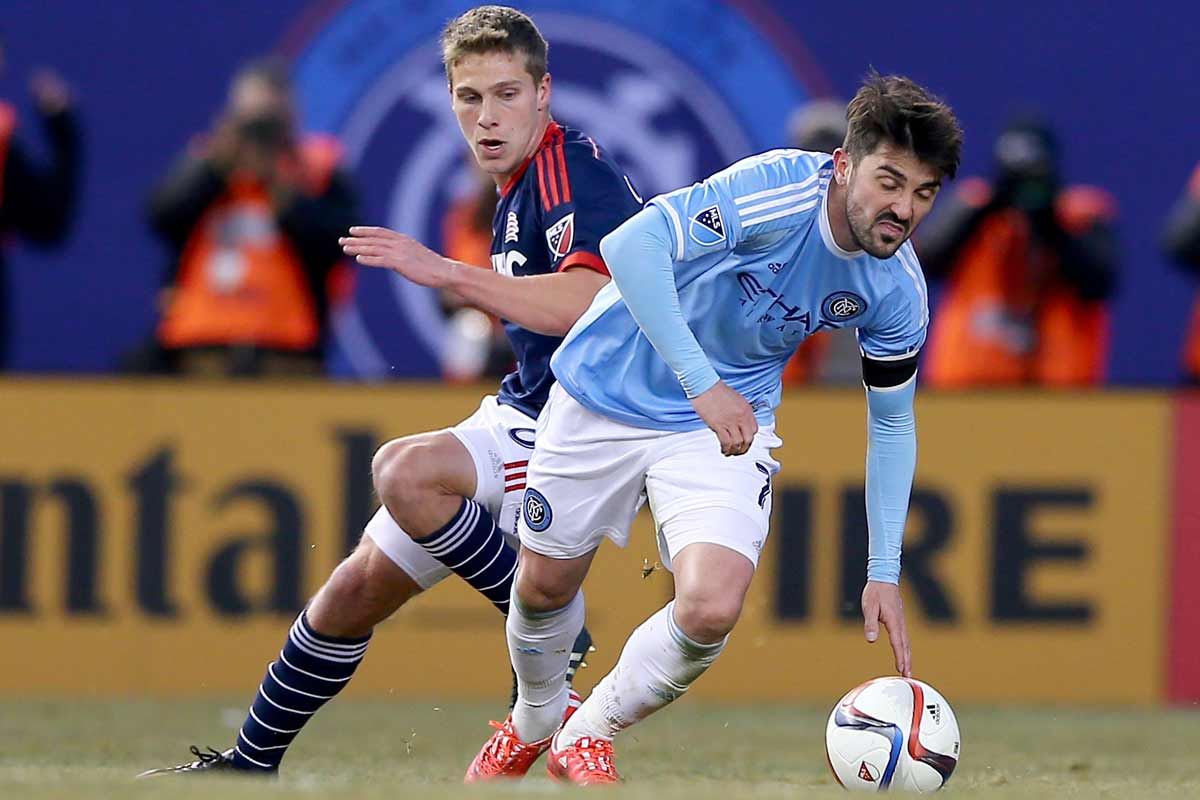 David Villa, con New York City