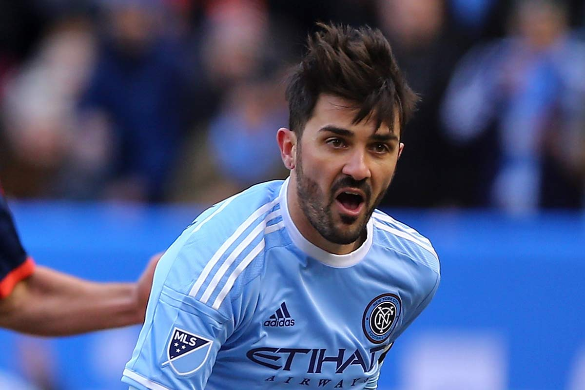 David Villa, le da la victoria a New York City