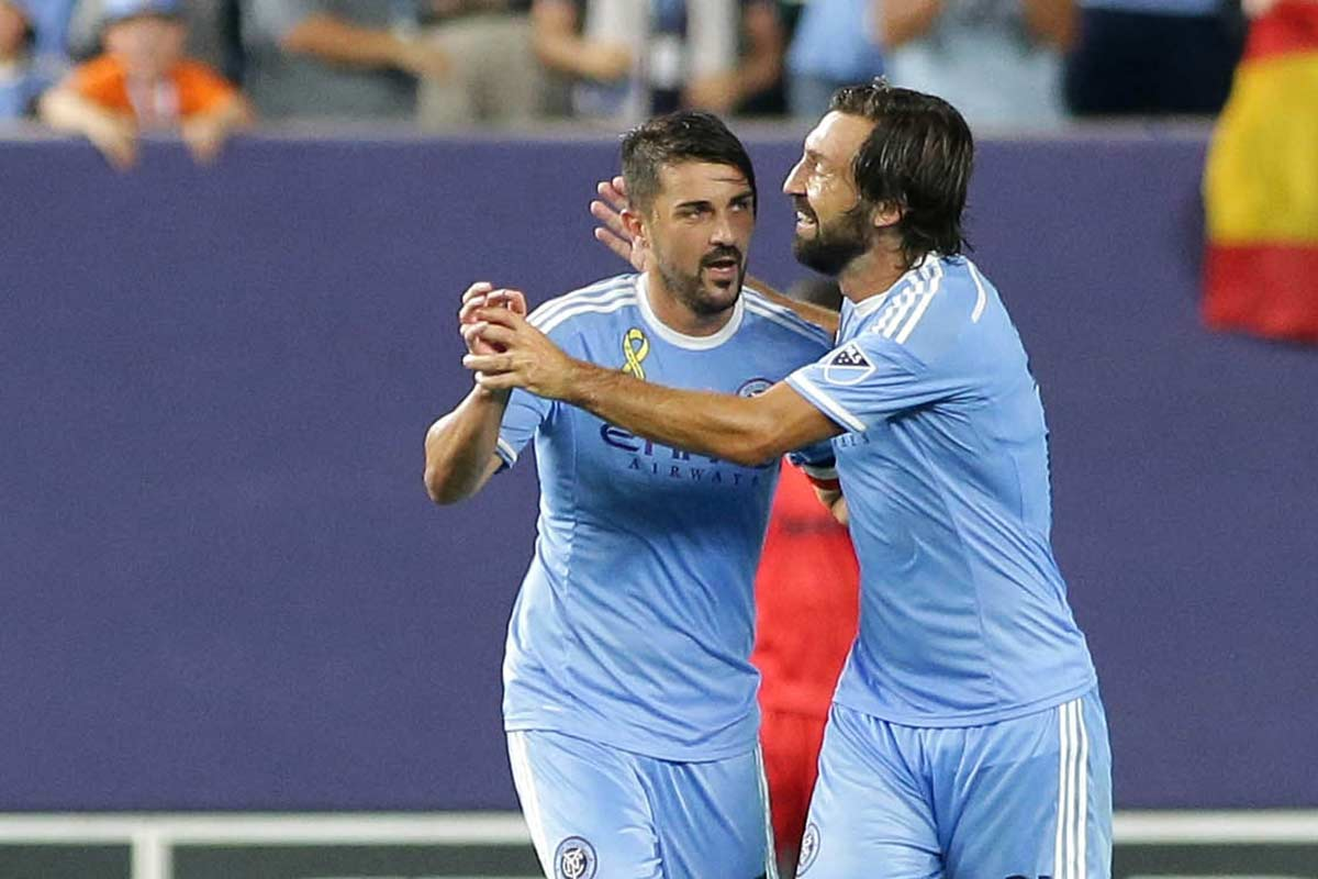 David Villa, de New York City