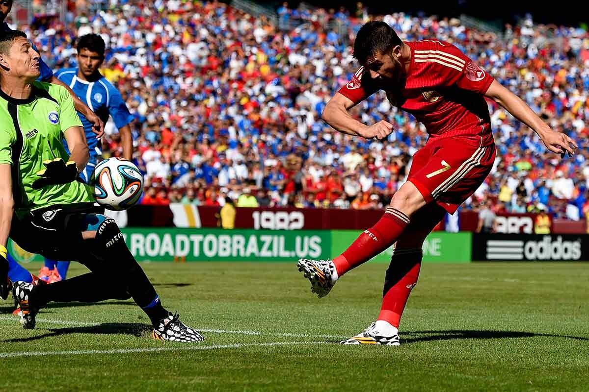 David Villa, con la selección española
